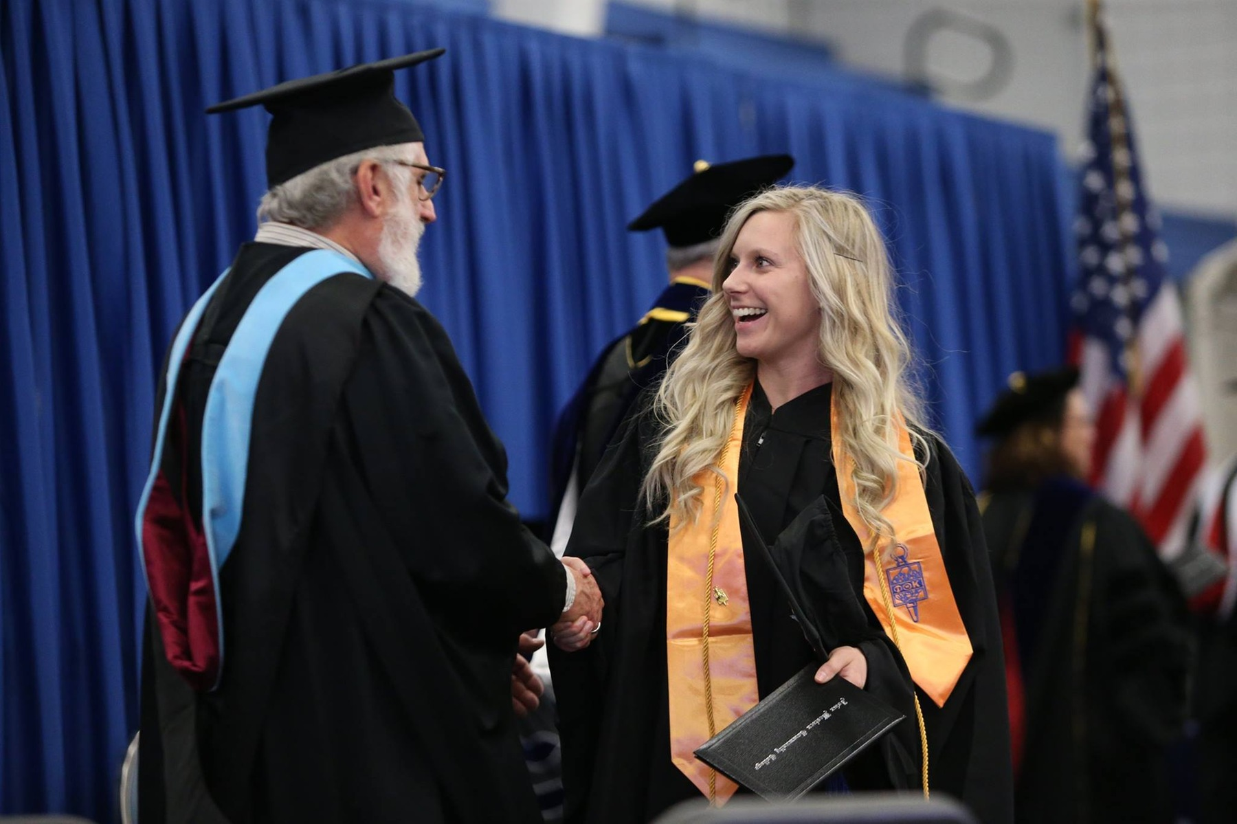 2018 Spring Commencement streamed for FREE in its entirety!
