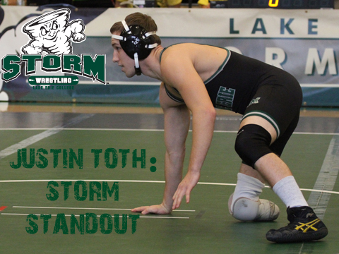 Toth Stands Out As A Wrestler (Video Story)