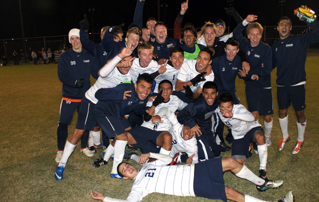 No. 10 Coker Men Conference Carolinas Regular Season Champs