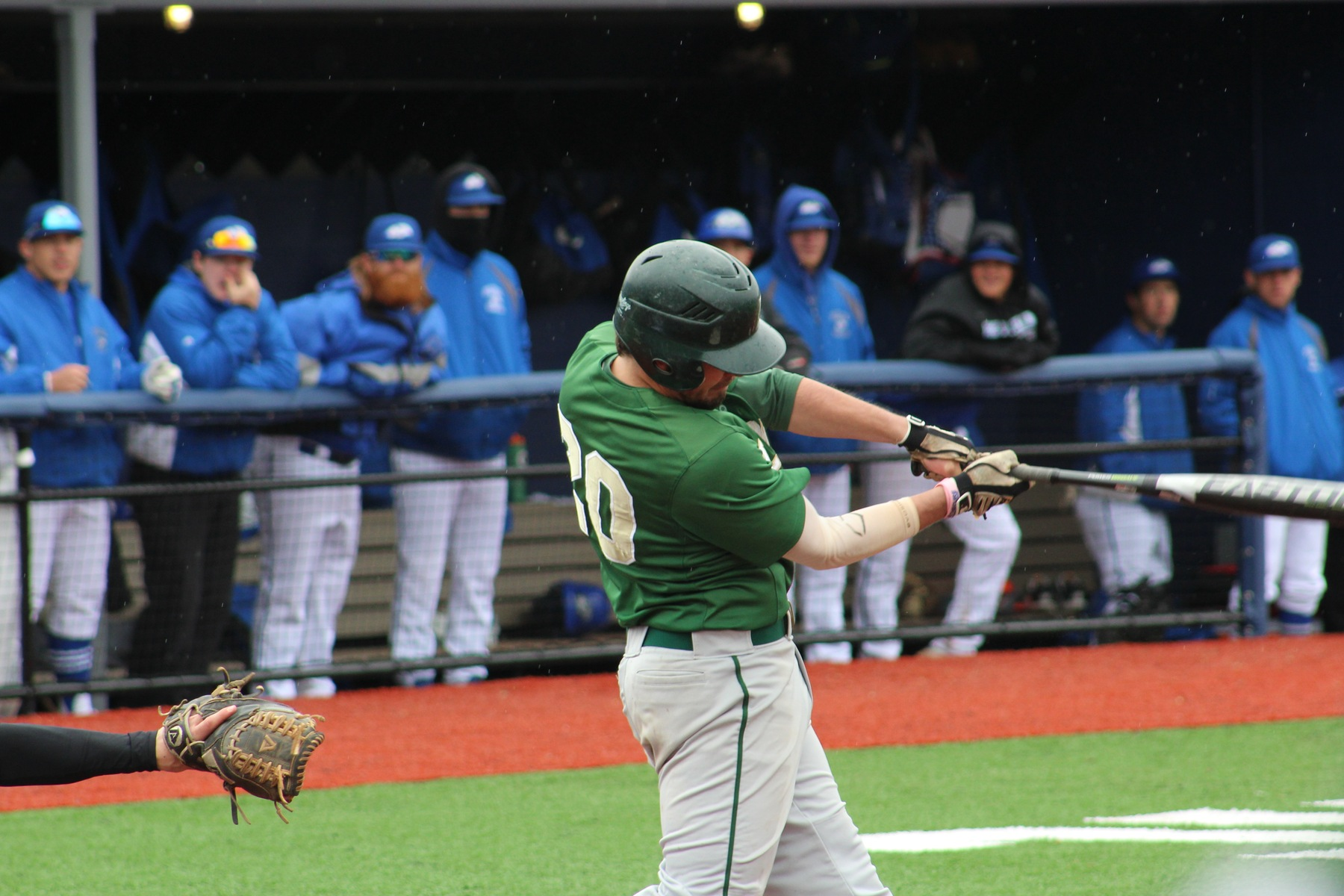 Baseball Claims Extra-Inning Win Over Lesley