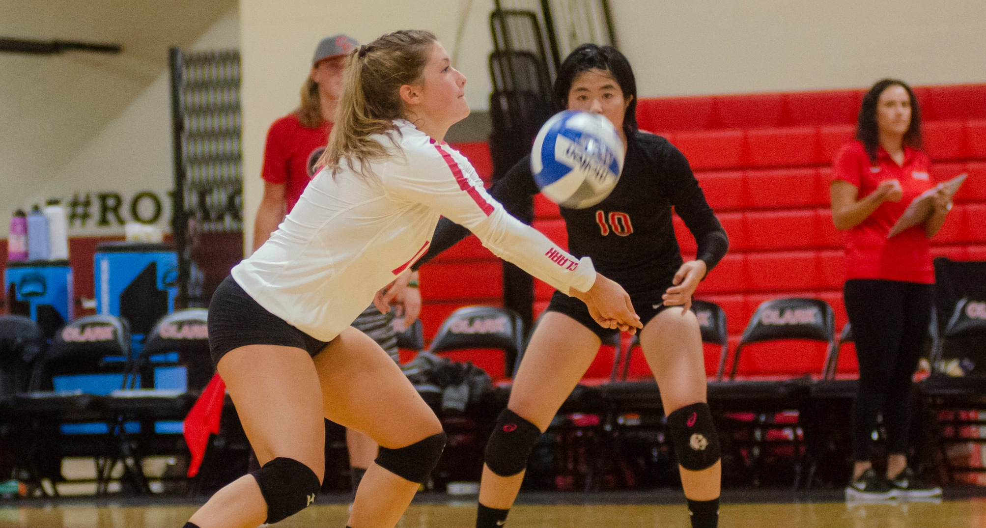 VB: Cougars Defeated at Emerson, 3-0