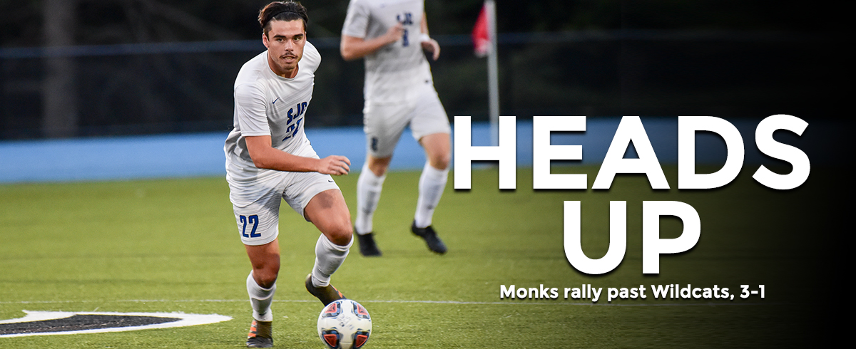 Monks Rally Past Wildcats, 3-1