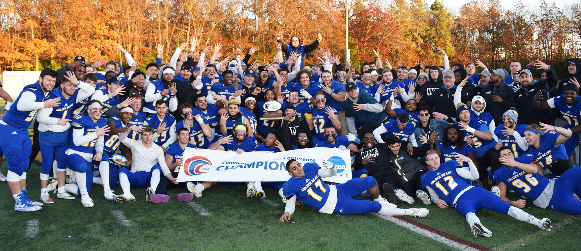 Western New England clinched its fourth straight conference title on Saturday.