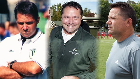 LINENBERGER REFLECTS ON 25 YEARS LEADING HORNET MEN'S SOCCER