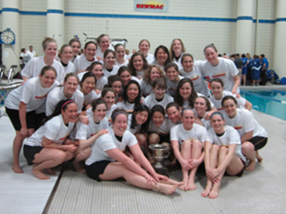 MIT Crowned NEWMAC Women's Swimming Champions
