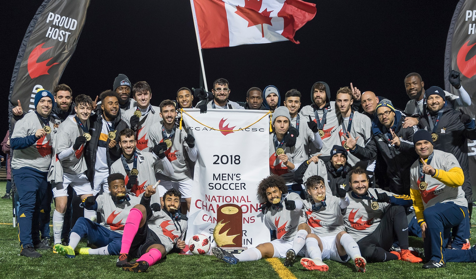 SEVENTH HEAVEN: MEN'S SOCCER WINS CCAA NATIONAL CHAMPIONSHIP