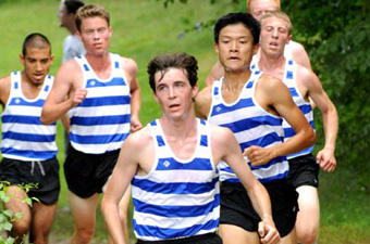 Men's x-country places fourth at New Englands, earns bid to NCAA championships