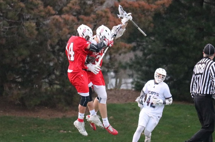 Polendo's overtime goal lifts men's lacrosse team past Hope, 17-16