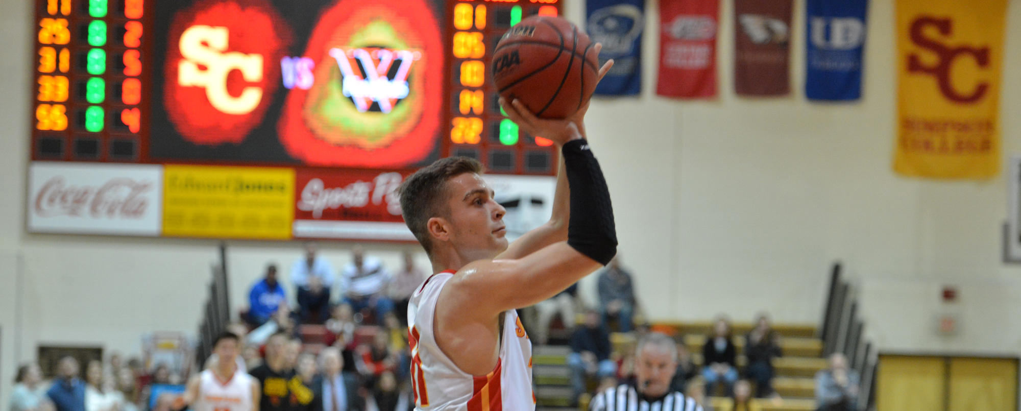 Ryan Skaar tied a career-high with 20 points in Simpson's loss to Nebraska Wesleyan.