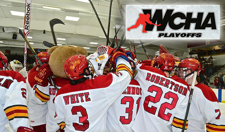 PREVIEW: Top-Seed Ferris State Opens WCHA Playoffs At Home Against Bemidji State