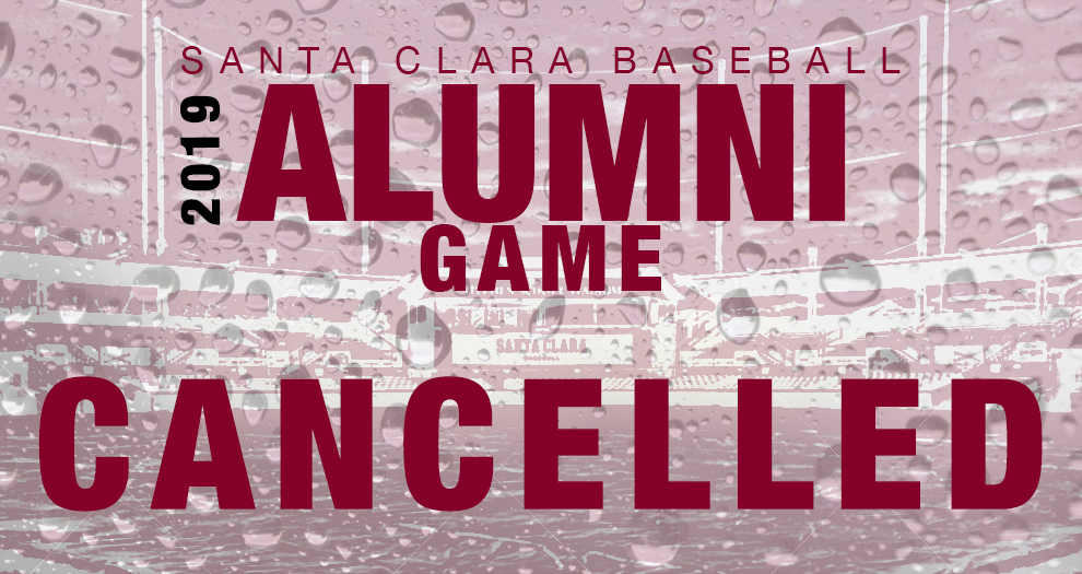 Baseball Alumni Game on Saturday Cancelled