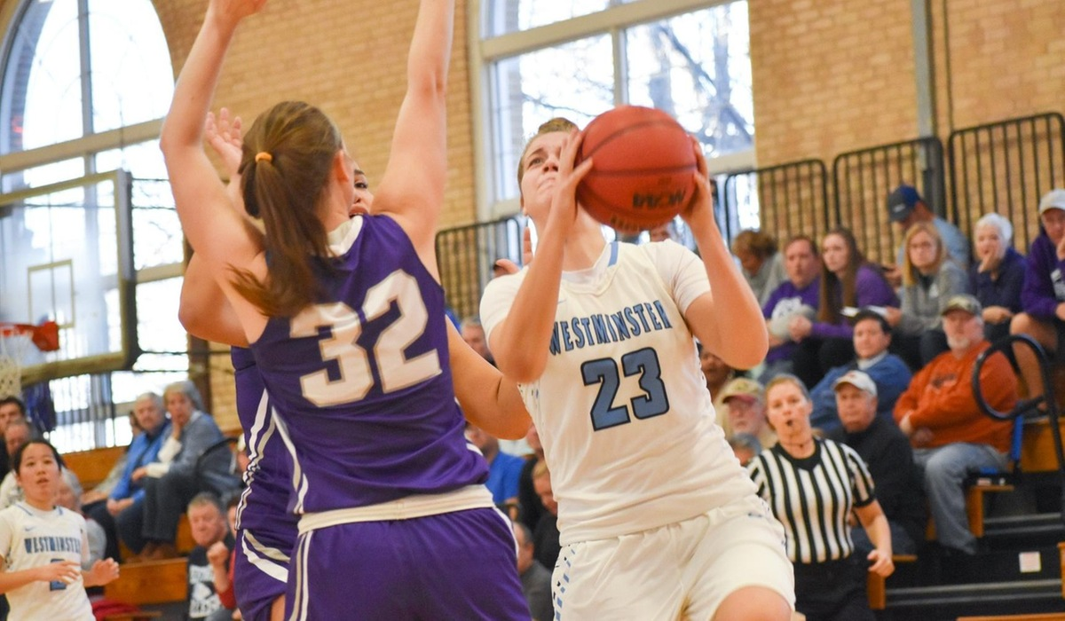Westminster College Women's Basketball Remains Undefeated in SLIAC Play, Escapes With Ugly Win Over Fontbonne