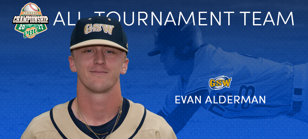 Alderman Named To PBC All-Tournament Baseball Team