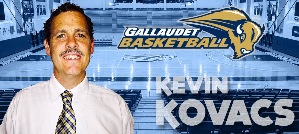 Kevin Kovacs returns to Gallaudet to lead men's basketball program