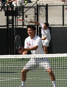 Men's Tennis Wins at #20 Whittier