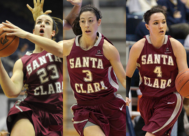 Santa Clara Places League-Best Three Student-Athletes on WCC All-Academic Team