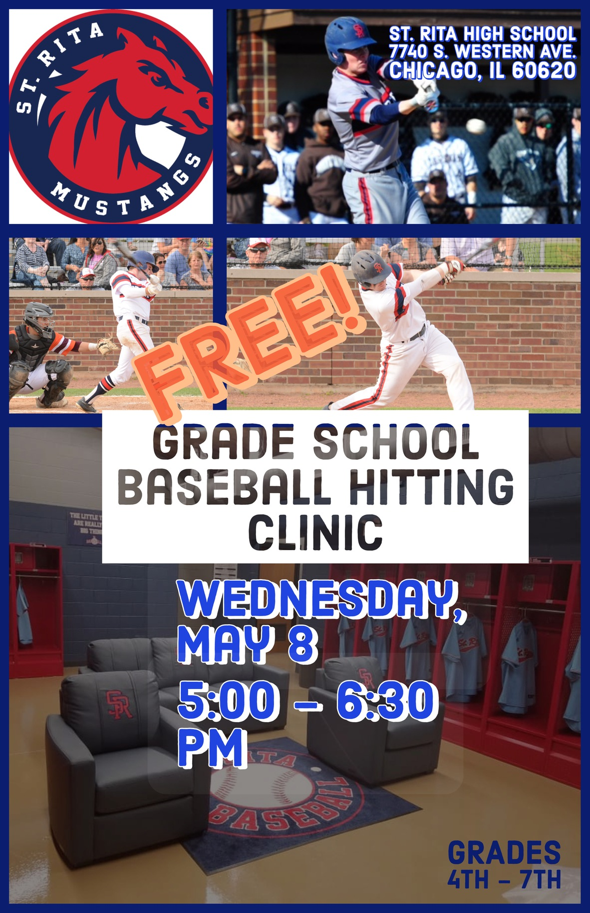 Join us at our Spring Baseball Hitting Clinic!