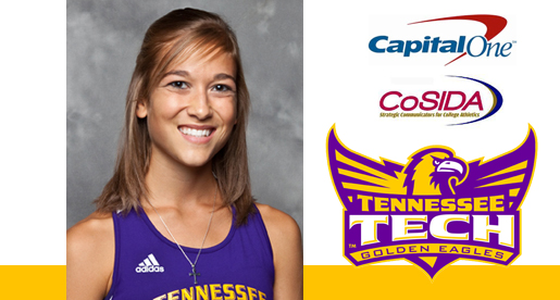 Beth Miller selected to CoSIDA Academic All-District team