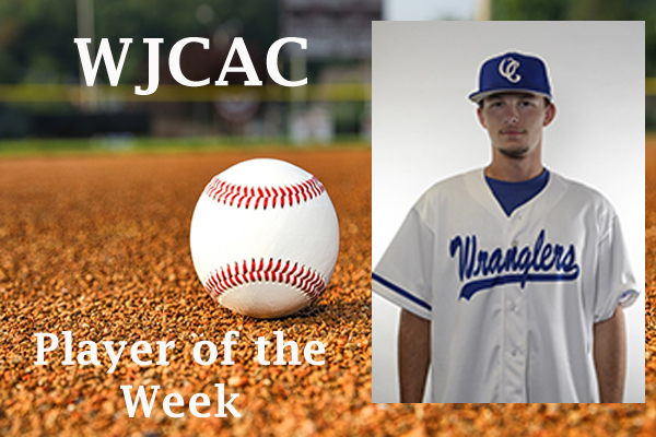 WJCAC Baseball Player of the Week (April 15-21)