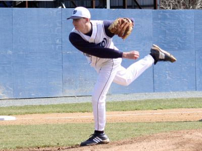 Keckler Named CAC Pitcher of the Week