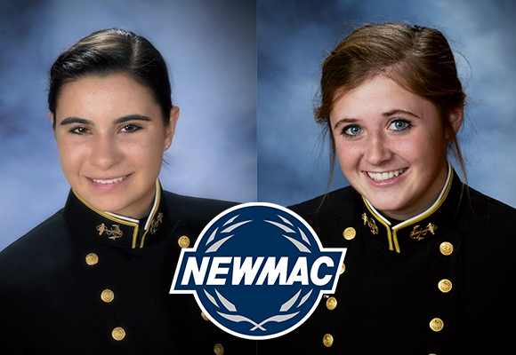 Sandquist, Hine Named to NEWMAC Academic All-Conference Volleyball Team