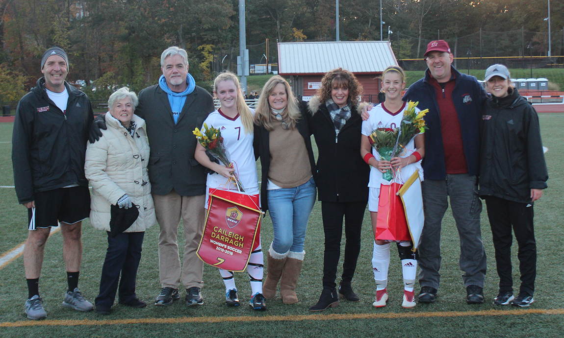 Regis Women's Soccer Earns Senior Night Victory