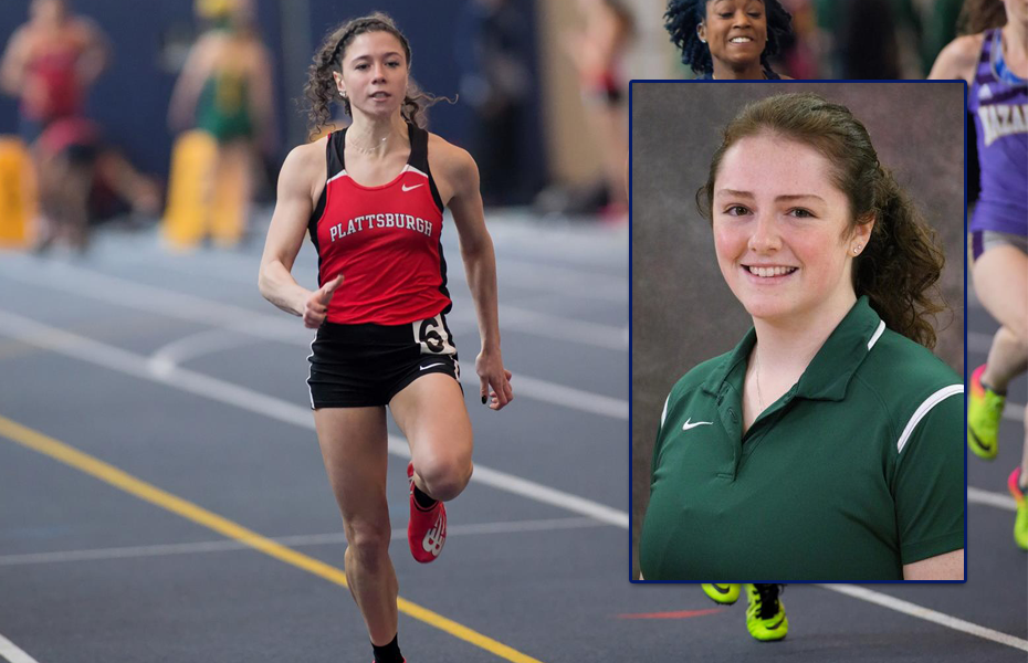 Plympton and Craven selected as SUNYAC Women's Track and Field Athletes of the Week