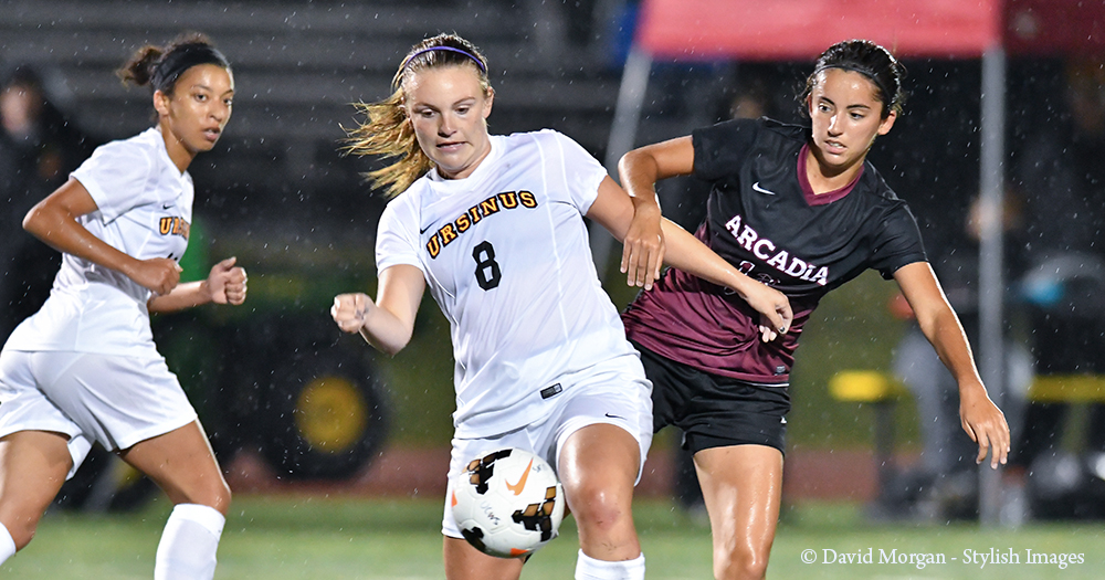 Women's Soccer Shut Out by Arcadia