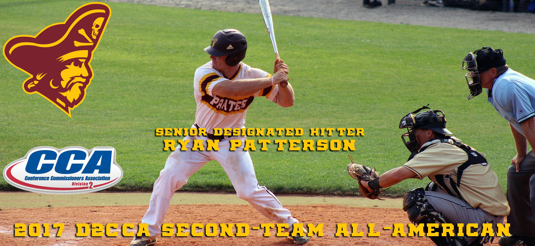 Ryan Patterson Earns Second-Team D2CCA All-American Baseball Honors