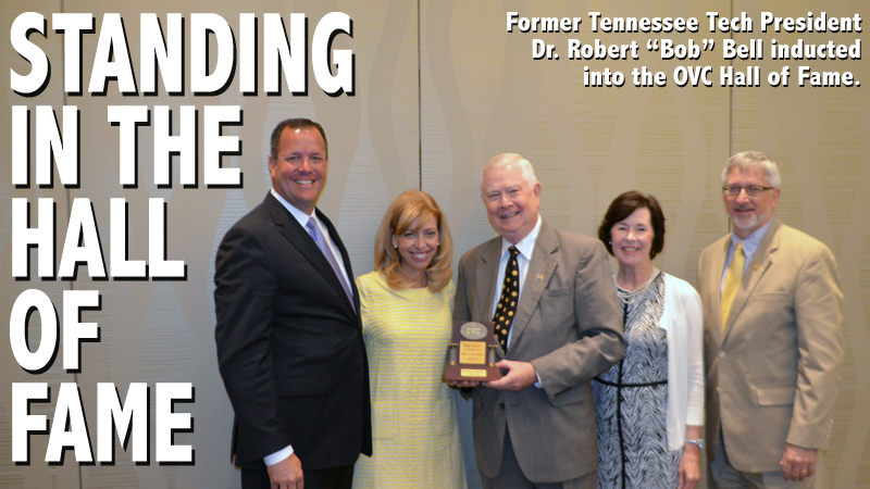 Former Tennessee Tech President inducted into OVC Hall of Fame