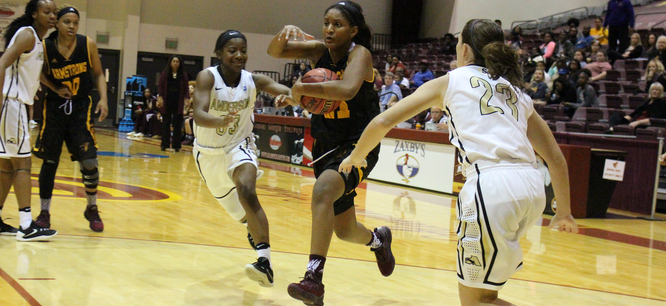Fourth Quarter Run Leads No. 21 Cougars By Pirates, 79-60, On Monday
