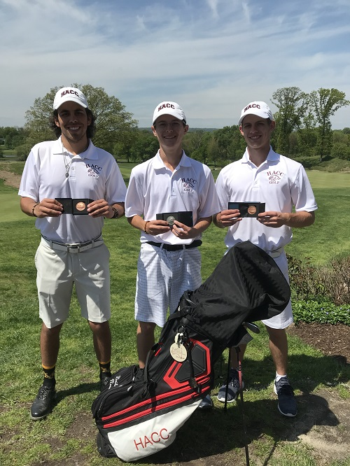 HACC Golf has Three Qualify for the National Tournament