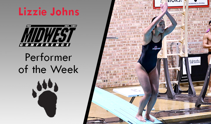 Lizzie Johns Named MWC Performer of the Week