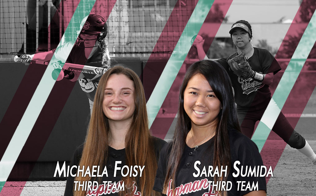 Foisy and Sumida finish debut seasons with All-Region honors
