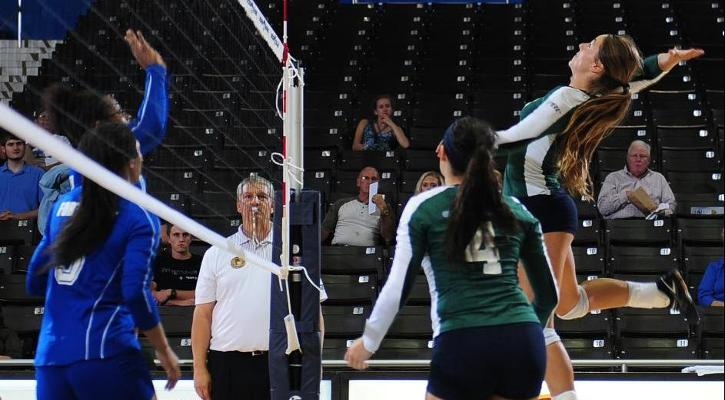 GC Volleyball Drops Tough Battle at Lander 3-0