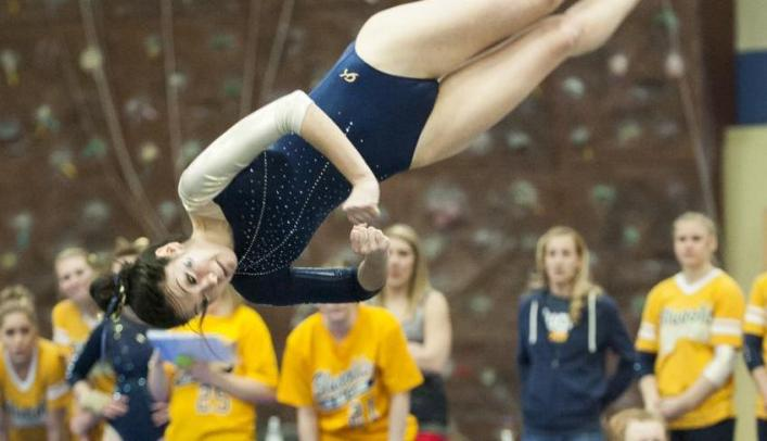 Blugold Gymnasts Finish First at Ozone Collegiate Classic