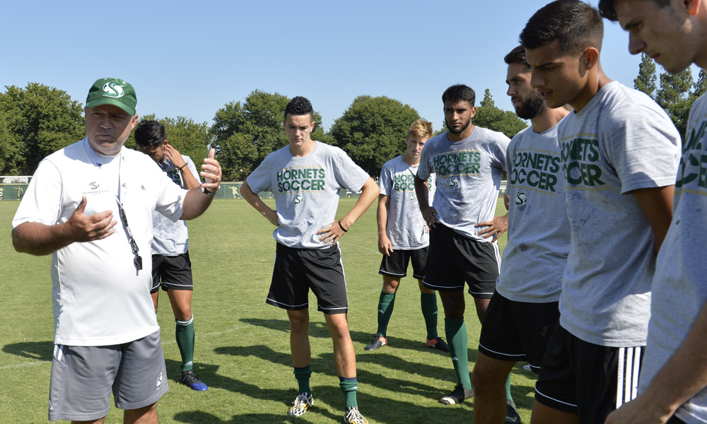 MEN'S SOCCER OPENS SEASON ON THURSDAY; Q AND A WITH HEAD COACH MICHAEL LINENBERGER