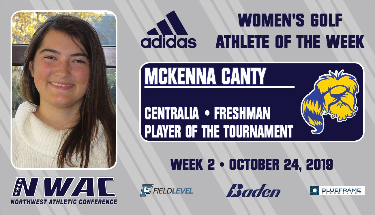 Adidas Athlete of the Week graphic for McKenna Canty