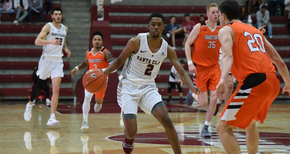 Men's Basketball Edged Down the Stretch by Idaho State