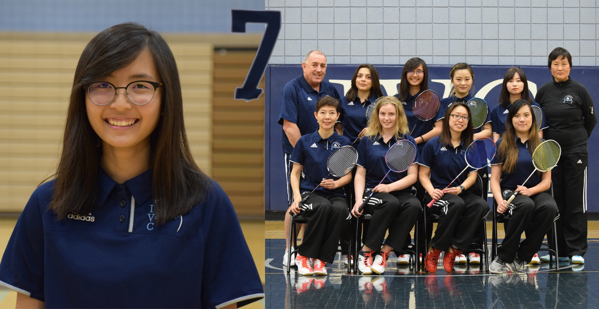 No. 7 Story of the Year - Badminton team shines in the spring