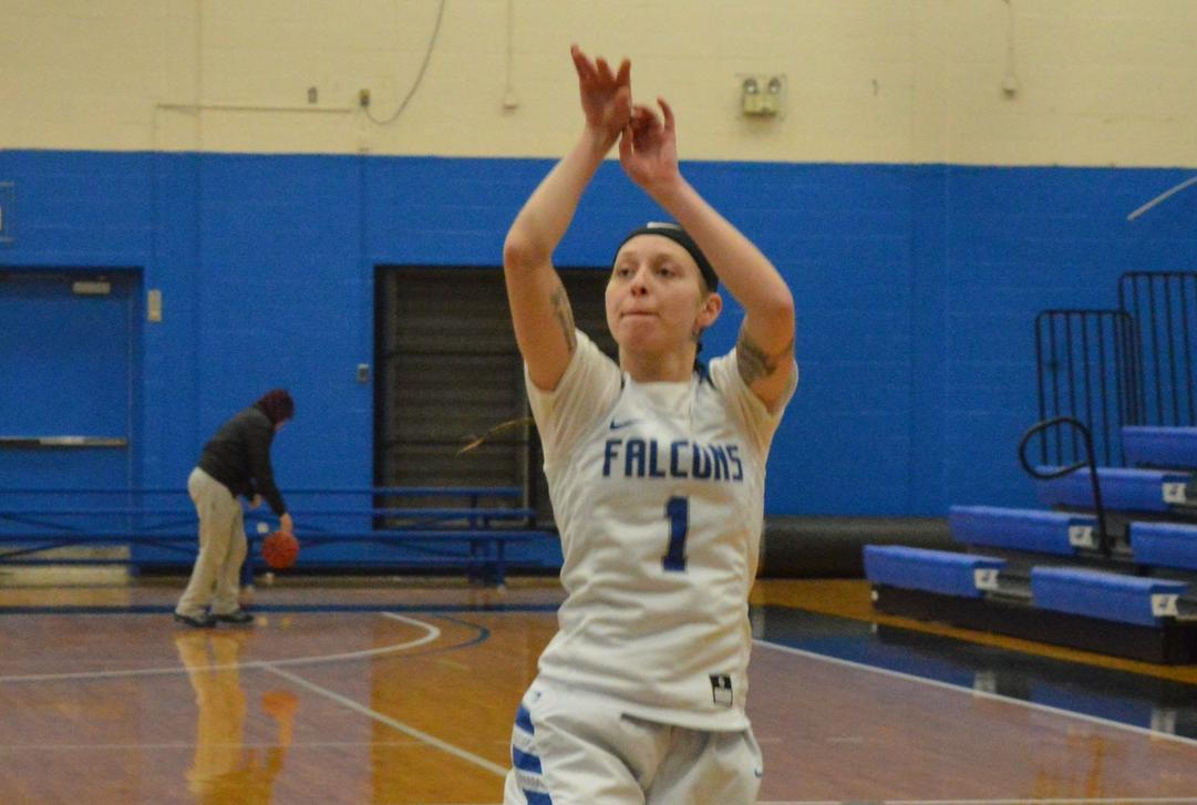 Osmond Joins 1,000th Point Club; Falcons Defeat Regis to Advance to GNAC Semifinals