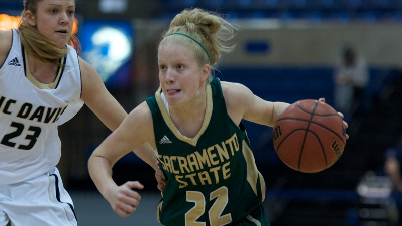 WOMEN'S BASKETBALL OUTLASTS NORTHERN ARIZONA 99-91