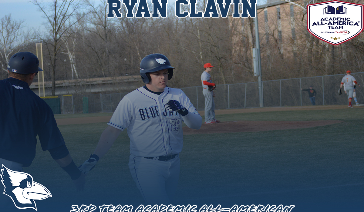 Ryan Clavin Earns CoSIDA Division III Academic All-America Honors
