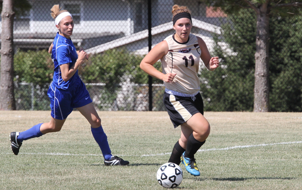 Homecoming Performance Record Setting for Lady Eagles Soccer Team