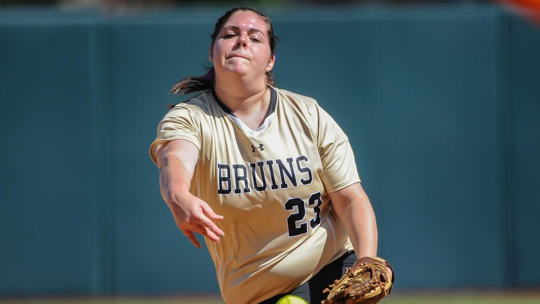 Lexi LeCalsey threw five shutout innings, allowing just one hit against Gannon