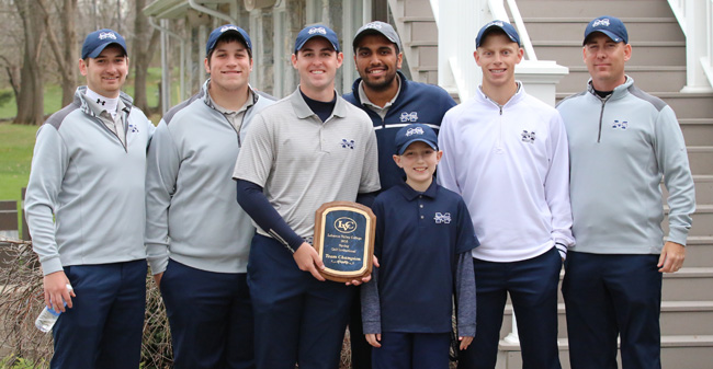 Maru Captures Medalist Honors as Greyhounds Win LVC Invitational