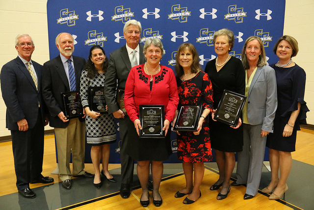 Inaugural inductees of the Salem Academy and College Hall of Fame