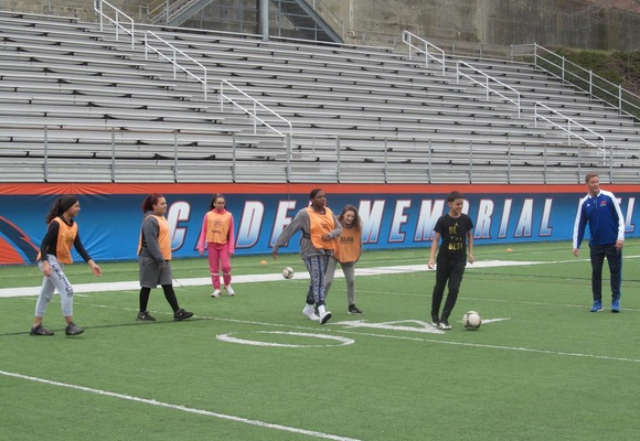 Bennie Dover Jackson Students Enjoy Sports and Wellness Day at Academy
