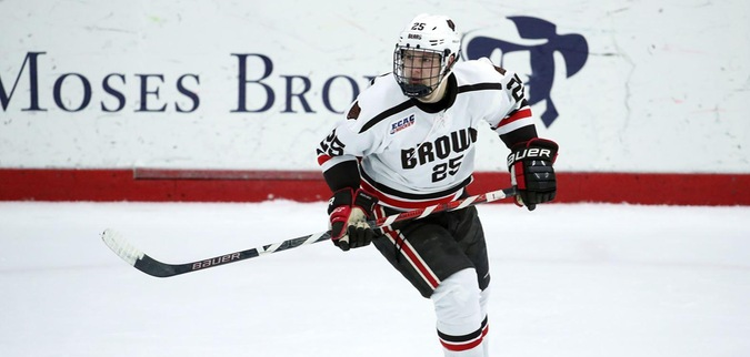 Brown falls to No. 5 Quinnipiac
