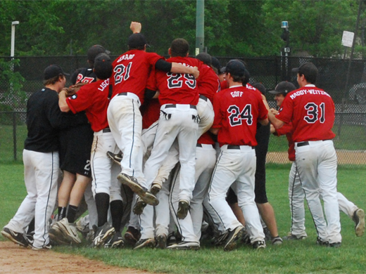 Centennial crown fits baseball team with championship game victory